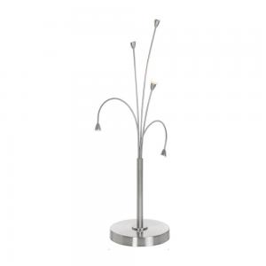 Stehende LED Lampen geschwungen dimmbar coole Tischlampen für Wohnzimmer /& Flur