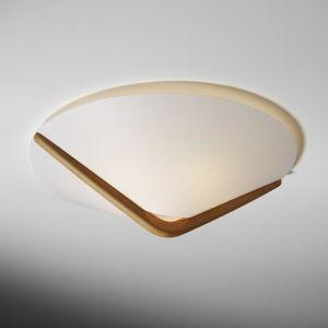 Domus Deckenlampe in klassischer Form mit Bucheholz