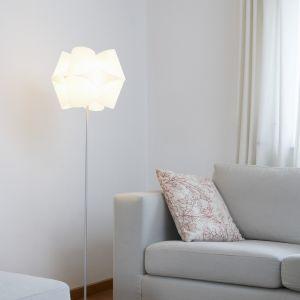 Domus Design-Standleuchte Schirm Lunopal - Fuß wählbar