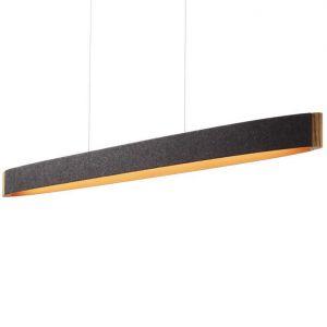 Domus Pendelleuchte aus Wollfilz mit  LED-Modul 40W
