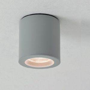 Downlight Kos rund für das Badezimmer, Silber lackiert silber, lackiert