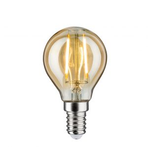 E14 D45 LED Tropfen gold 4,5W 2700K, 430lm