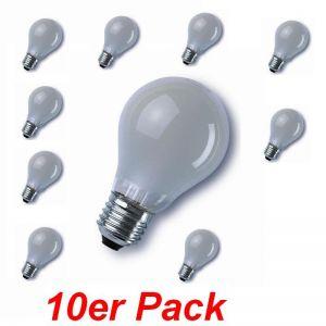 LHG E27 40W matt, A60 im 10er Pack