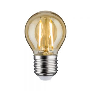 E27 D45 LED Tropfen gold 4,5W 2700K, 400lm