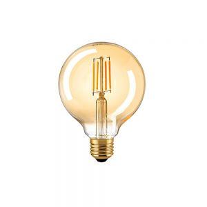 E27 G95 LED Globe gold 8,5W 2400K 806lm