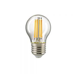 E27 LED Filament Klar D45 4,5W 2700K 470lm
