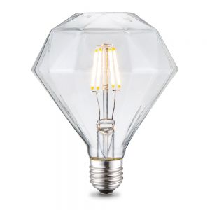 E27 LED Filament Leuchtmittel Diamant 4W 2700K