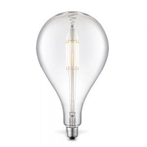 E27 LED Filament Riesentropfen 4W 2700K Klarglas H 29cm