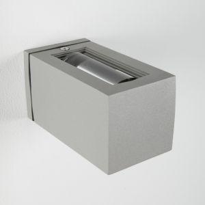 LHG Effekt-Aussenlampe Joy - silbergrau 1x 60 Watt, grau