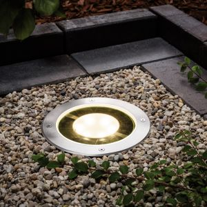 Einbauleuchte Solar Pandora LED für den Außenbereich