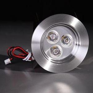 LHG Einbauspot aus Aluminium, LED 3 x 1W warmweiß