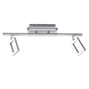 Elegante LED-Deckenleuchte aus Stahl, inklusive 2 x 5Watt LED-Board, 3000°K, insgesamt 960lm