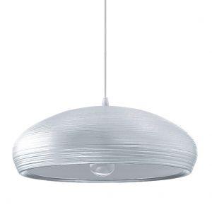 Elegantes Aluminium-Pendel 40cm mit handgearbeiteter Struktur