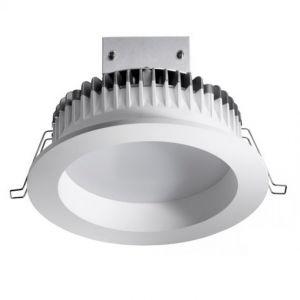 Energiesparender LED-Downlight Einbaustrahler mit warmweißem Licht - 12cm Durchmesser