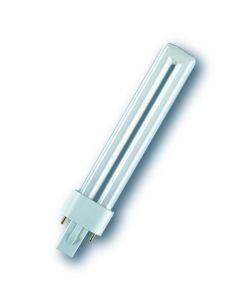 Energiesparlampe Osram Dulux S G23 für KVG 9W hellweißTC-S Dulux S 9W/840 4000K Neutral weiß G23