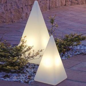 Epstein Außenleuchte Pyramide in drei Größen wählbar