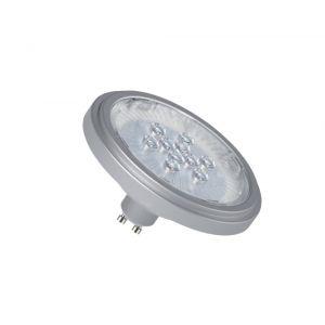 ES-111 LED Reflektor GU10 11W, Silber, nicht dimmbar, 6000K 1x 11 Watt, Tageslicht (> 5.300 Kelvin)