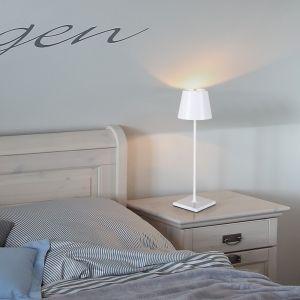 Für Innen und Außen - Akku LED Tischleuchte Nuindie IP 54