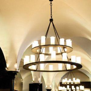 28 flammige Ring-Krone-echte Schmiedekunst made in Germany