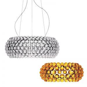 Foscarini LED-Pendelleuchte Caboche grande, 2 Farben