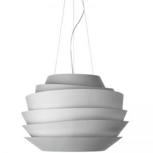 Foscarini Pendelleuchte Le Soleil, 62 cm, Weiss weiß