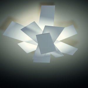 Foscarini Wand- oder Deckenleuchte Big Bang - Kunststoff - Weiß