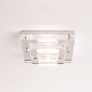 Frascati Einbaustrahler eckig aus Glas