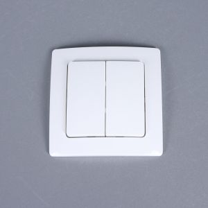 Funktaster 2/4Funktionen weiß incl Batterie