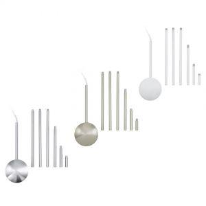 Funktioneller Kabelkanal für Deckenleuchten aus Stahl