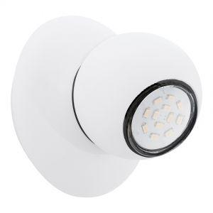 Futuristische LED-Spotserie aus weißem Stahl - Ø 12 cm