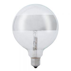 G120, Globe, Ringspiegel-silber, E27, 42 Watt