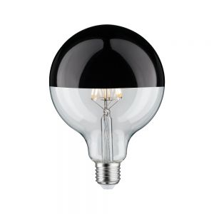 G125 LED 5W Kopfspiegel schwarzchrom Globe125 E27 5W 2700K 520lm