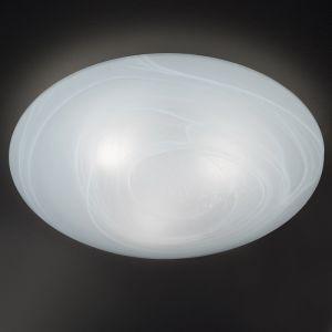 Glasdeckenleuchte mit Alabasterglas Ø42cm - IP44