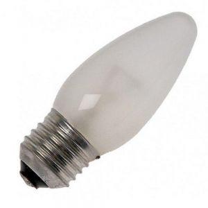 Glühkerze Leuchtmittel C35 Kerze, 40 Watt matt, E27 1x 40 Watt, 40 Watt, 410,0 Lumen