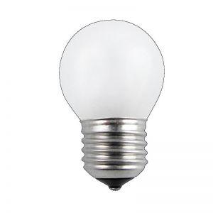 Glühlampe Leuchtmittel D45 Tropfen 60 Watt opal weiß  E27