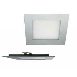 High-Tech LED-Lichtpanel in Silber