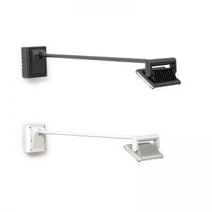 Hochwertige LED-Display Wandleuchte für Werbeflächen - in zwei Farben