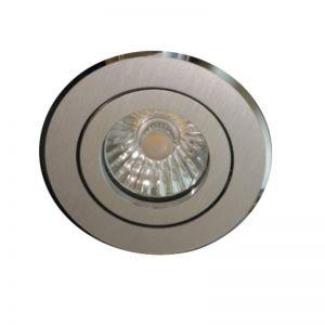 Hochwertiger Einbaustrahler Aluminium Rund -45° dreh- und schwenkbar