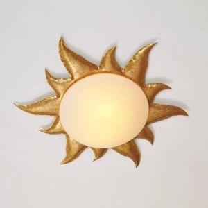 Holländer Deckenleuchte Sonne, gold, 62 cm