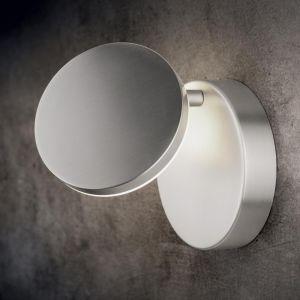Holtkötter LED-Wandleuchte Plano, verstellbar, Aluminium matt aluminiumfarben