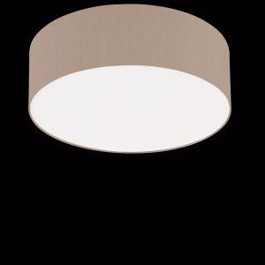 Deckenleuchte Mara, Chintz-Stoffschirm Melange, 50 cm 3x 57 Watt, 50,00 cm