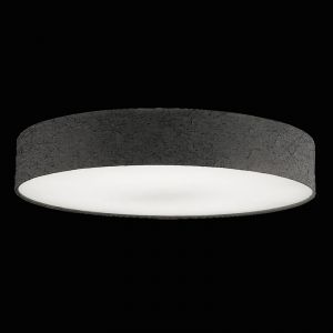 Hufnagel LED-Deckenleuchte Strukturschirm crash-anthrazit 60 cm 1x 30 Watt, 60,00 cm