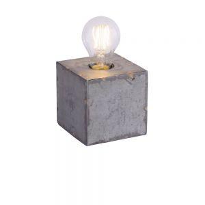Industrie-Style Tischleuchte Samia Cube 1fl.
