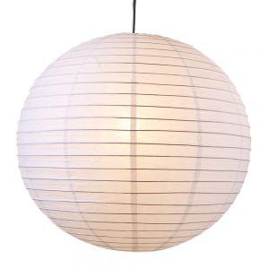 Japankugel in weiß - 40cm Durchmesser inklusive Schnurpendel