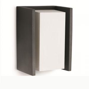 Kantige Außenleuchtenserie - Wandleuchte - Aluminium - Anthrazit