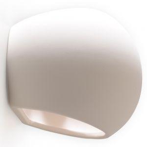 LHG Keramikwandleuchte Globe inkl. 1x E27 60W