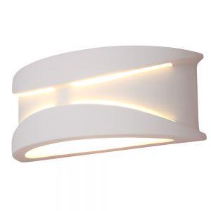 Keramikwandleuchte  Apollo weiß inkl. 6W LED