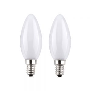 Kerze  LED 2W matt E14  2700K  230V  210Lumen 2W ~22W