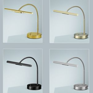Klassische Piano Lampe in 4 verschiedenen Oberflächen wählbar