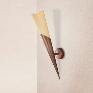 Klassische Wandfackel - 3 Oberflächen - Höhe 46 cm
